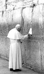 papa la zidul plangerii